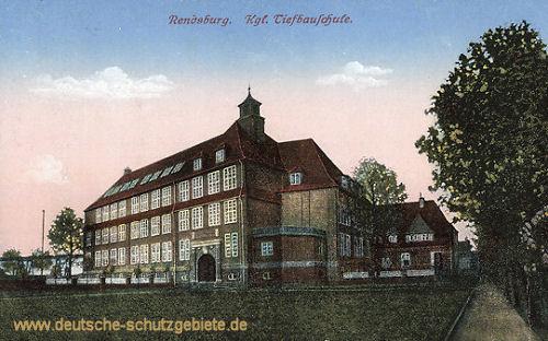 Rendsburg, Königliche Tiefbauschule
