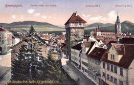 Reutlingen, Partie beim Gartentor - Schönberg - Georgenberg