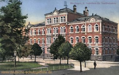 Reutlingen, Technikum für Textilindustrie