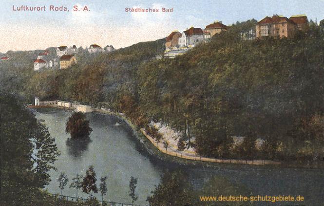 Roda, S.A., Städtisches Bad