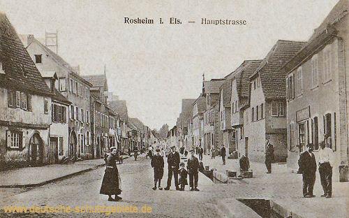 Rosheim i. Els., Hauptstraße