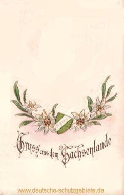 Gruss aus dem Sachsenlande