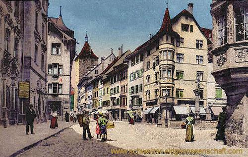 Schaffhausen, Oberstadt