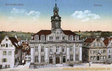 Schwäbisch Hall, Rathaus