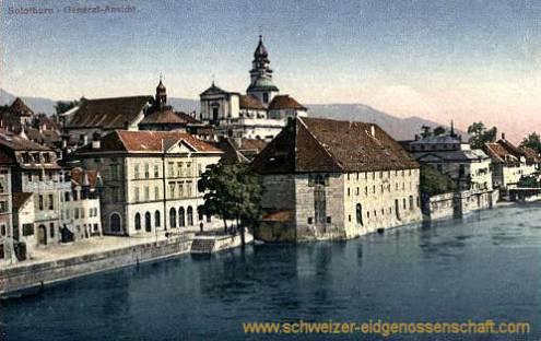 Solothurn, General-Ansicht