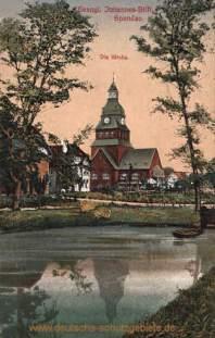 Spandau, Evangl. Johannes-Stift - Kirche