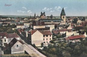 Speyer, Stadtansicht