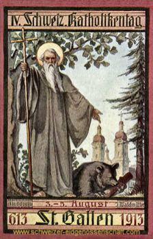 St. Gallen, Katholikentag 1913