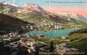 St. Moritz-Bad (1775 m) und Dorf (1839 m)