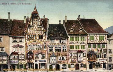 Stein a. Rhein, Alte Bauwerke