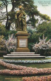 Stettin, Denkmal Friedrich der Große