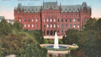 Stettin, Rathaus am Viktoriaplatz