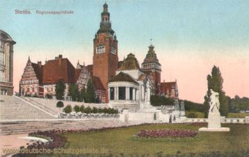 Stettin, Regierungsgebäude