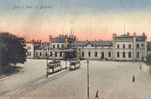 Stolp, Bahnhof