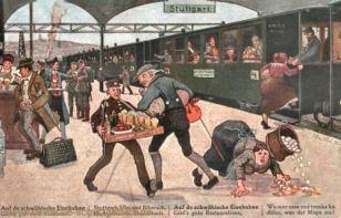 Stuttgart, Auf der Schwäbischen Eisenbahn