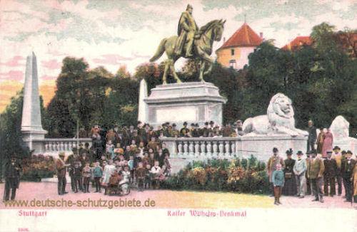 Stuttgart, Kaiser Wilhelm-Denkmal