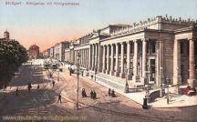 Stuttgart, Königsbau mit Königsstraße