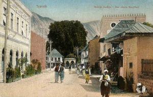 Travnik, Der obere Stadtteil