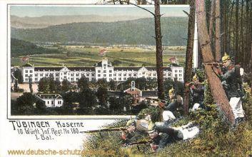 Tübingen, Kaserne, 10. Württ. Inf. Regt No 180, 1 Bat.