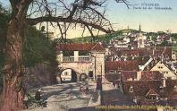 Tübingen, Partie bei der Schlosslinde