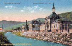 Türkheim im Elsaß, Gemeinschaftsschule und Fluss Fecht