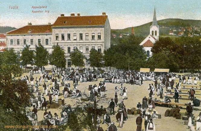 Tuzla, Appelplatz
