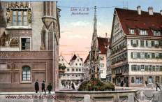 Ulm a. D., Marktbrunnen