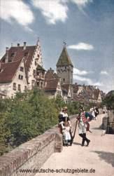 Ulm a. D., Auf der Stadtmauer