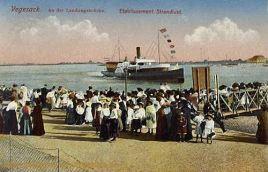Vegesack, An der Landungsbrücke