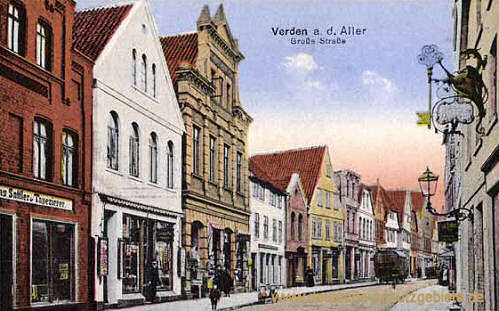 Verden, Große Straße