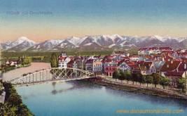 Villach mit Draubrücke
