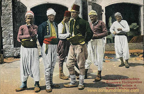 Volkstrachten Bosnien-Herzegowina