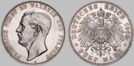 5 Mark, Waldeck 1903
