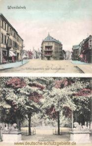 Wandsbek, Lübecker- und Kampstraße, Kindergarten
