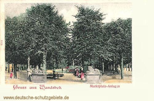 Wandsbek, Marktplatz-Anlagen