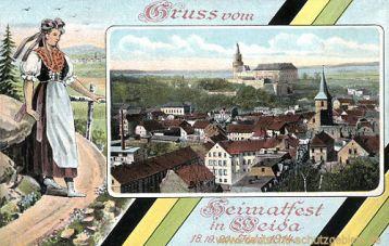 Weida, Heimatfest 18. 19. 20. Juli 1914