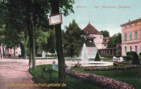 Weimar, Carl Alexander-Denkmal
