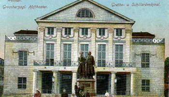 Weimar, Großherzogliches Hoftheater