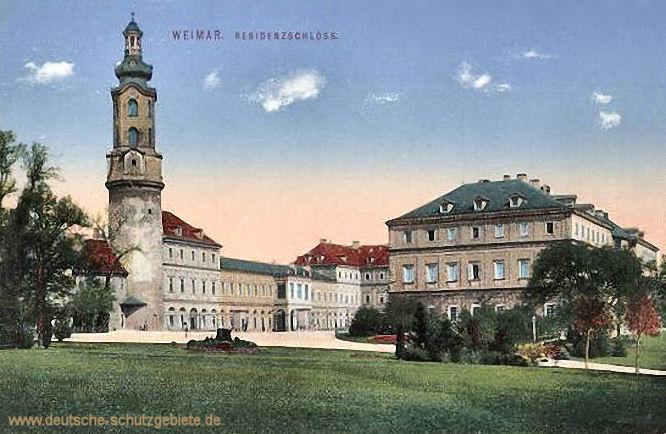 Weimar, Residenzschloss