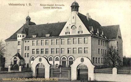 Weissenburg in Bayern, Central Schulhaus