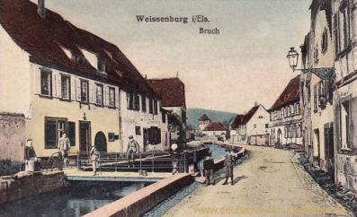 Weißenburg im Elsass, Bruch