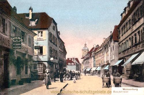 Weißenburg im Elsass, Hauptstraße