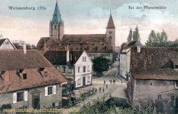 Weißenburg im Elsass, Bei der Pfistermühle