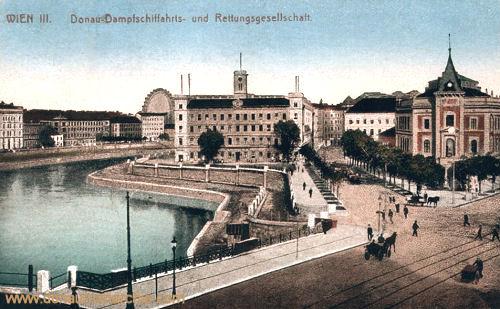 Wien III., Donau-Dampfschiffahrts- und Rettungsgesellschaft