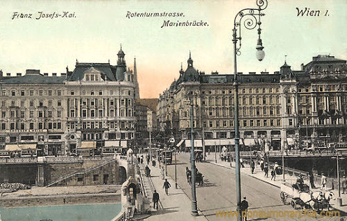 Wien I., Franz Josefs-Kai