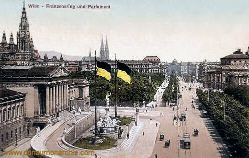 Wien, Franzensring und Parlament