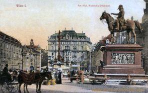 Wien I., Am Hof Radetzky-Denkmal