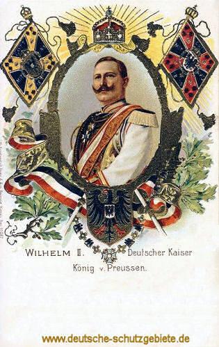 Wilhelm II. Deutscher Kaiser König von Preußen