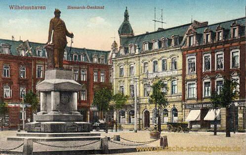 Wilhelmshaven, Bismarck-Denkmal