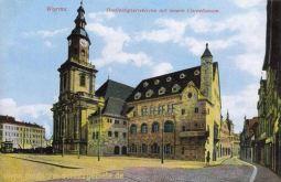 Worms, Dreifaltigkeitskirche und Cornelianum